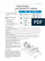 TUR.308 Power Generation Steam Turbine Generator RFQ Guidelines