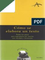 12-Dintel Felipe - Como Se Elabora Un Texto