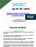Decreto 83 C. Medina 22-12-2016