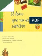 EL LEON QUE O SABIA ESCRIBIR.pdf