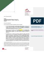 Carta de Autorización de Frecuencias y Equipos COIMSER - 2018 - Observa...