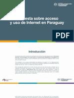 Encuesta Uso y Acceso Internet 2017
