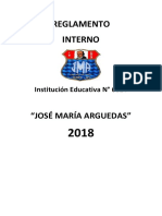 2018 Rosa Reglamento Interno