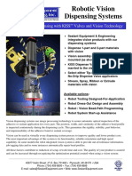 Robotic Vision Dispensing Systems