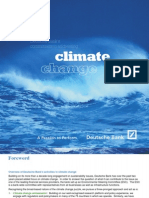 Deutsche Bank_Commitment to Climate Change