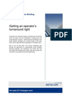 Getting an operator's turnaround right (Detecon Executive Briefing)