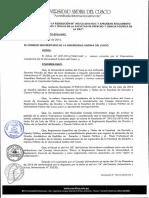 R CU 734 2016 UAC Reglamento Grados Titulos Derecho