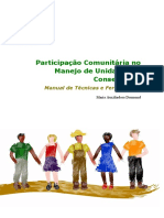 Participacao Comunitaria no Manejo de Unidades de Conservacao Manual de Tecnicas e Ferramentas