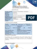Guía de Actividades y Rúbrica de Evaluación - Ciclo de Tarea 1 Unidad 1