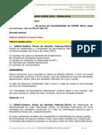 Prova Resolvida AFRFB 2014 - Contabilidade