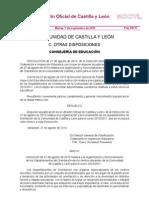 Organización y funcionamiento de los Departamentos de Orientación en Castilla y León