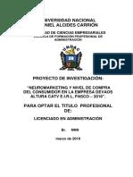 Proyecto Modelo 2016