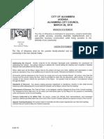 Alhambra City Council agenda - March 26, 2018