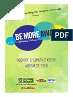 BMA Program 2018