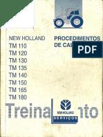 New Holland - Procedimentos de Calibração Linha TM