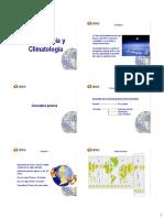 Clase 06 Meteorologia y Climatologia