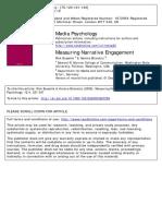 Measuring Narrative Engagement