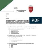 evaluacion microbiologia