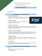ANEXO I - Formulário para Projeto de Obra Audiovisual