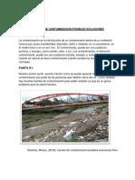 Proyeccion Social Fuentes de Contaminacion- Posible Solucion