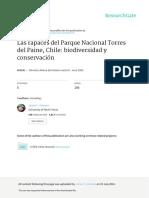 Las Rapaces Del Parque Nacional Torres Del Paine C