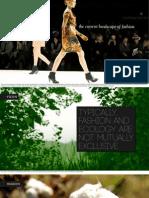 eco-fashion label presentation