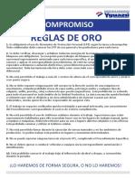 Reglas de Oro yguazu