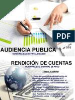 Audiencia Publica Del Ejercicio 2017
