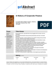 A History of Corporate Finance (921)