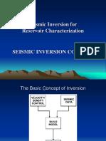 T 2 Seismic Inversin Concept