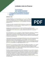 General Ida Des Sobre Las Finanzas