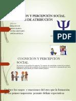 Cognición y Percepción Social Diapositivas Final