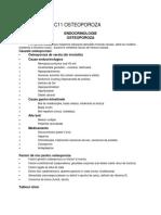 curs endocrinologie - OSTEOPOROZA