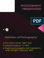 Photography Presentation