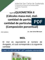 Quimica 22 Estequiometria I