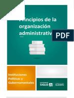 04.B-Modulo 3-Lectura 1 - Principios de La Organizacion Administrativa