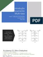 Introdução Processamento MultiTaxa