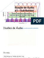 ESTI019 Codificação de ÁudioI 2018
