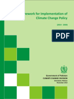 Framework for Implementation of CC Policy