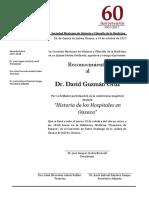 Reconocimiento Smhfm-Dr. David