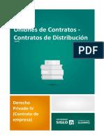 2 Uniones de Contratos - Contratos de Distribución