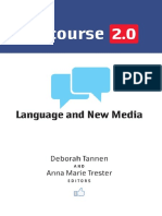 (Georgetown University Round Table on Languages and Linguistics Series) Deborah Tannen, Anna Marie Trester-Discourse 2.0_ Language and New Media-Georgetown University Press (2013)