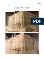 Block Reinforcement - Wood Frame