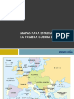 Mapas Para Estudiar La i Guerra Mundial