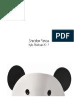 Sheridan Acrylic Panda
