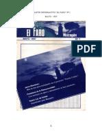 Boletín Informativo El Faro Nº 1