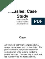 60240160 Measles Virus Case Study