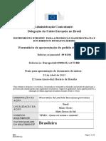 Formulário a Preencher - UE