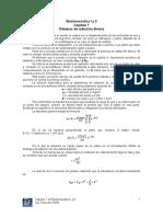Electroacústica I y II Capítulo 7 Sistemas de Radiación Directa