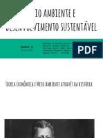 Meio Ambiente e Desenvolvimento Sustentável - Atividade de Internet Grupo H